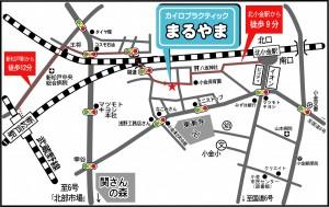 地図詳細(道順入り)