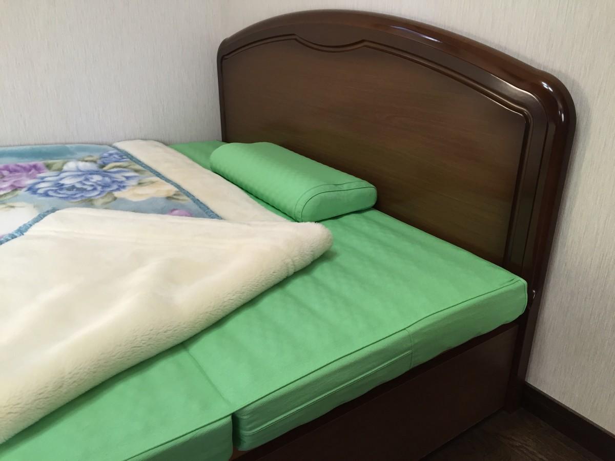 牽引効果のある寝具