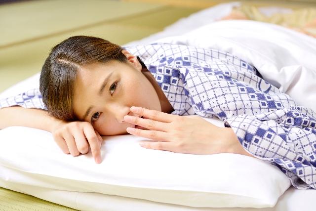 不眠 ぐっすり眠りたい